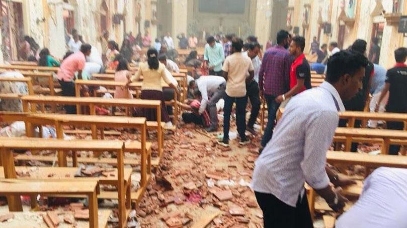 Son dakika... Sri Lanka'da kilise ve otellere Paskalya'da bombalı saldırı