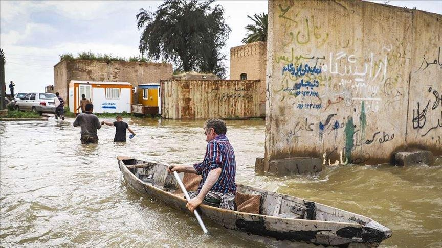 İran'da sel felaketinde can kaybı 78'e yükseldi