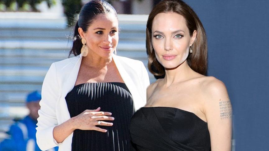 Meghan Markle, Angelina Jolie'nin izinden gidecek