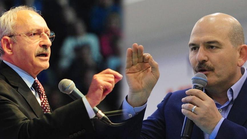 Son dakika haberi... Bakan Soylu'dan Kılıçdaroğlu açıklaması!