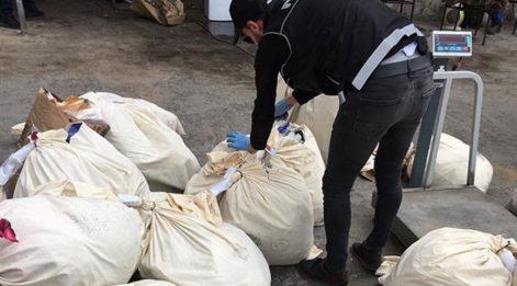İstanbul'da 10 ton uyuşturucu imha edildi
