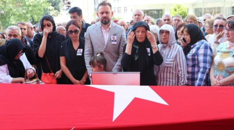 CHP Milletvekili Arslan için Denizli'de tören