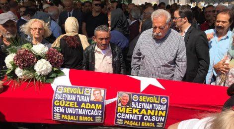 Süleyman Turan son yolculuğuna uğurlandı
