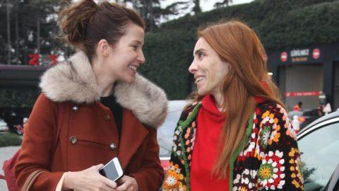 Selma Ergeç ve Nur Fettahoğlu alışveriş merkezinde birbirine rastladı
