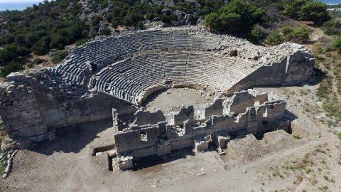 Patara nerede? Patara antik kentine nasıl gidilir?