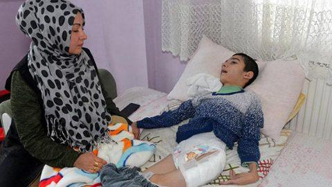 Korkunç iddia: Fizyoterapist engelli çocuğun bacağını kırıp eve gönderdi