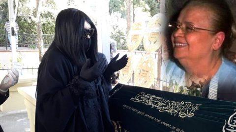 Bülent Ersoy'un annesi son yolculuğuna uğurlandı