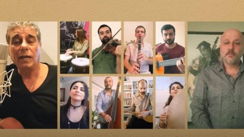 """Kardeş Türküler, 4 sanatçı ile 4 dilde """"Ağladıkça""""yı söyledi"""