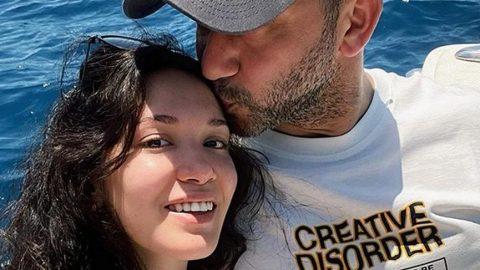 Rıza Kocaoğlu'dan sevgilisi Hazal ile aşk paylaşımı