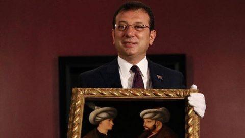 Fatih Sultan Mehmet tablosu yuvasına döndü
