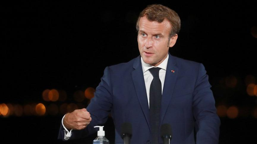 Macron: Türkiye ile iyi niyet çerçevesinde yeniden diyalog kurmak istiyoruz!