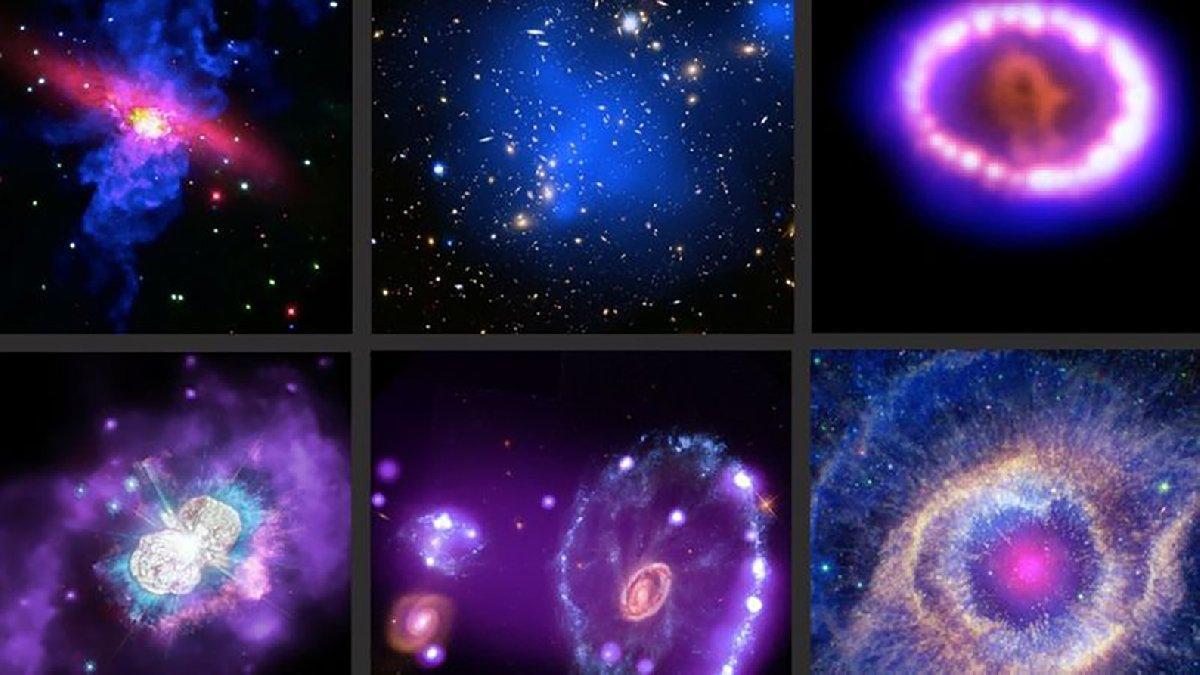 NASA'dan nefes kesen paylaşım! Yıldızların ve galaksilerin yeni görüntüleri