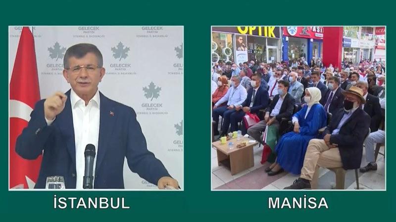 Ahmet Davutoğlu'ndan hükümete 'corona' eleştirisi!
