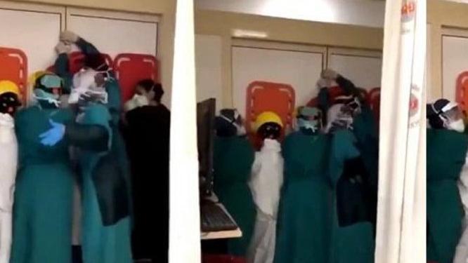 Ankara'da sağlık çalışanlarına saldırıyla ilgili soruşturma başlatıldı!