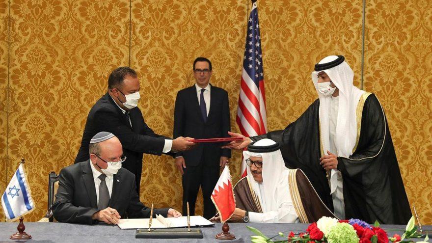 Bahreyn ile İsrail arasında resmi diplomatik ilişkiler başladı