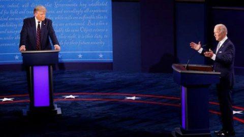 ABD'de kritik gün! Trump ve Biden son kez karşı karşıya geliyor