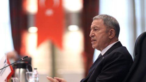 Bakan Akar: Ruslarla çalışmalar planlandığı şekilde devam ediyor