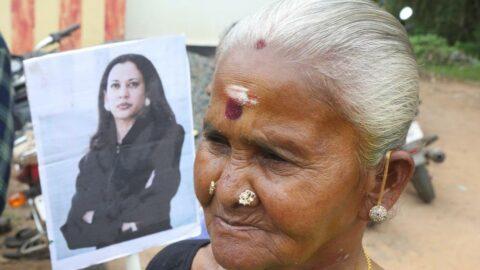 Kamala Harris'in Hindistan'daki köyünde kutlama