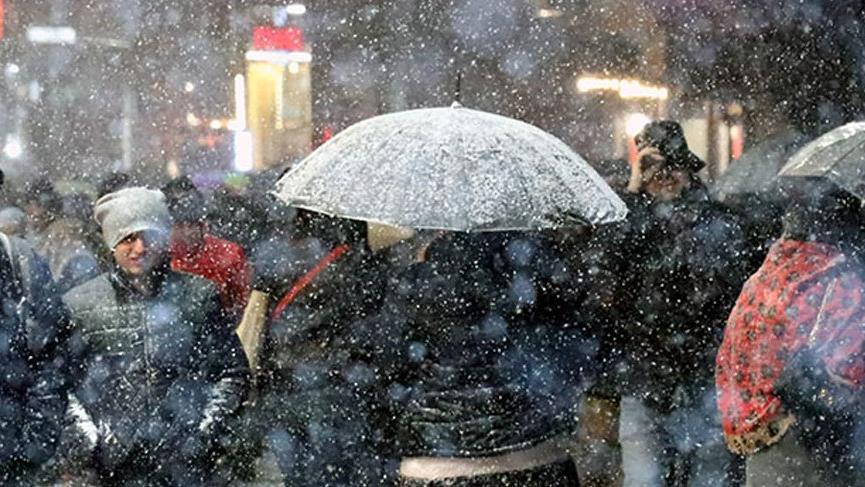 Son dakika... Meteoroloji'den birçok il için yoğun kar yağışı uyarısı