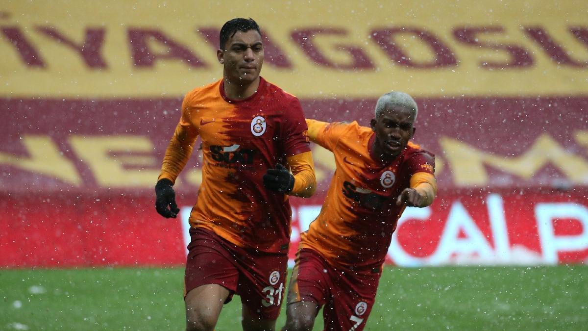 Galatasaray'ı Mostafa ısıttı... Aslan zirveyi son dakikada geri aldı
