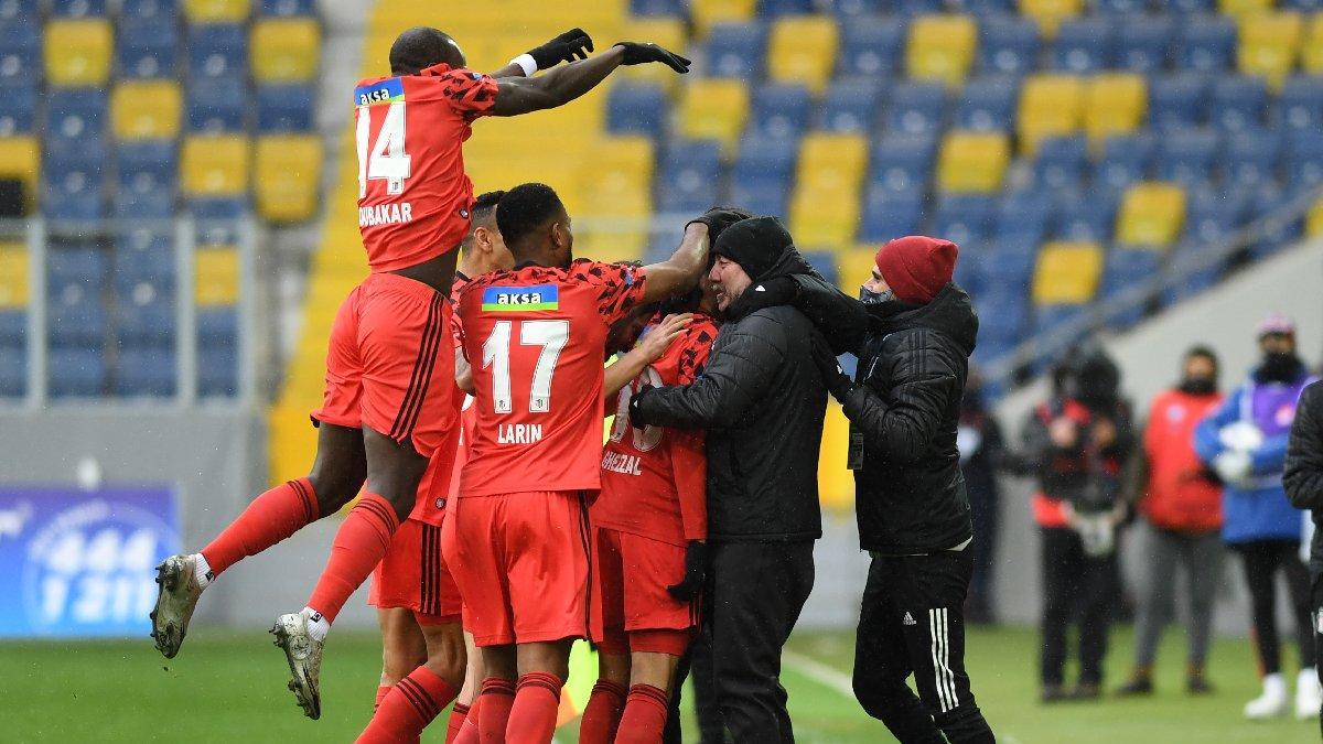 MAÇ SONUCU   Gençlerbirliği 0-3 Beşiktaş