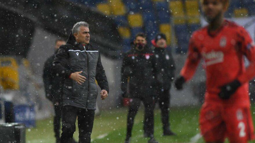 Mehmet Altıparmak: İyi oynadığımız bir karşılaşmayı kaybettik