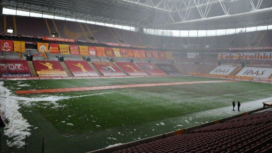 'Galatasaray'ın maçı bu zeminde tamamlaması kabul edilemez'