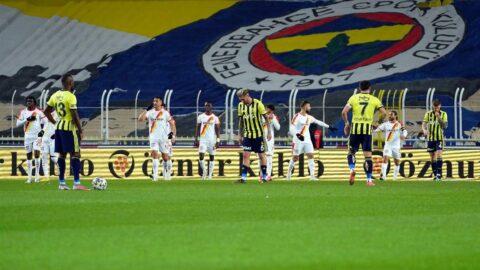 Fenerbahçe Kadıköy'de kayıp... Bir darbe daha