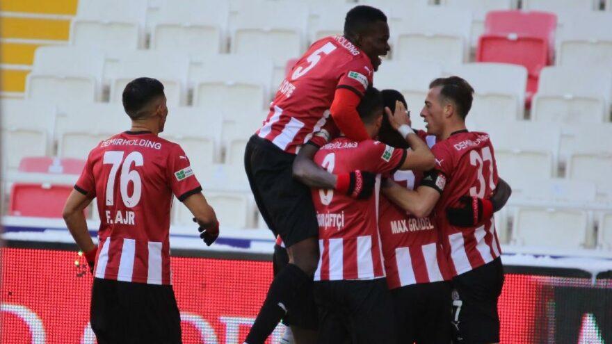 MAÇ SONUCU | Sivasspor 2-0 Kayserispor