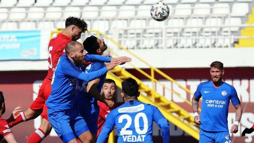 MAÇ SONUCU | Tuzlaspor 0-1 Boluspor