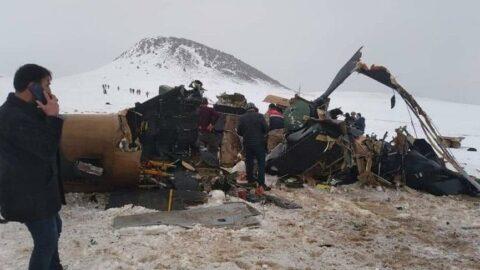 Milli Savunma Bakanlığı helikopter kazasının nedenini açıkladı