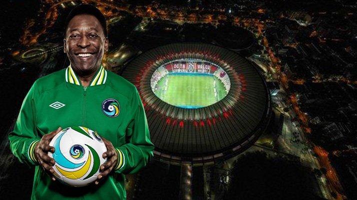 Pele'nin adı dünyanın en eski statlarından biri olan Maracana'ya veriliyor