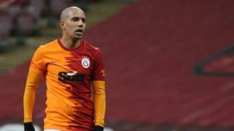 Galatasaray'ın yıldızı Sofiane Feghouli 'dalya' dedi!