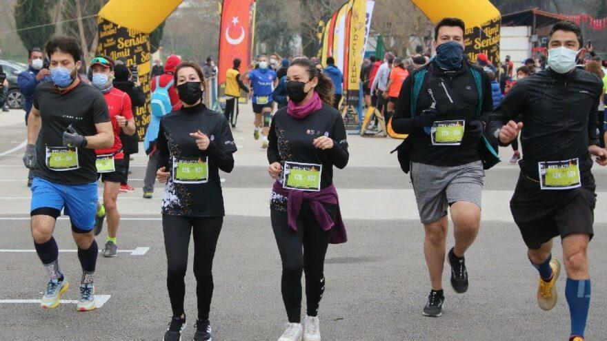 4. Efes Ultra Maratonu'na yoğun ilgi… Belediye Başkanı da koştu