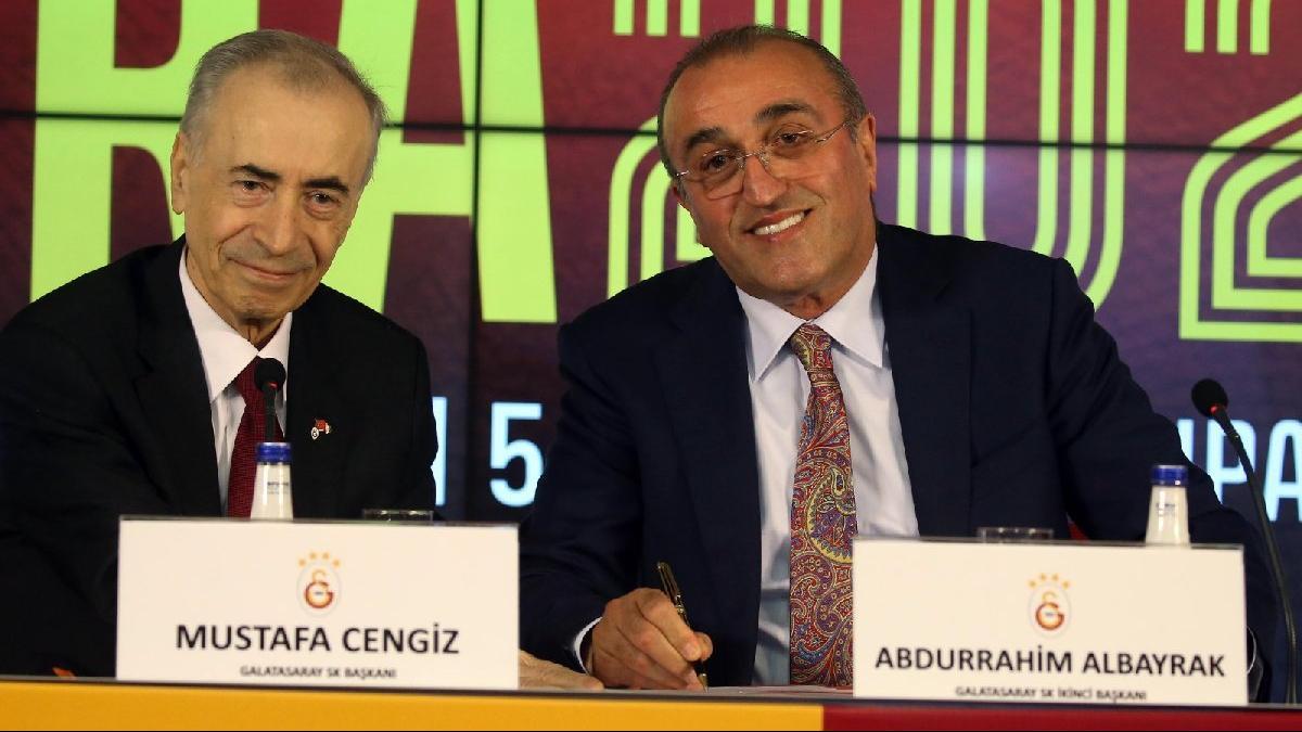 Galatasaray Başkanı Mustafa Cengiz'den Fatih Terim ve Younes Belhanda sözleri