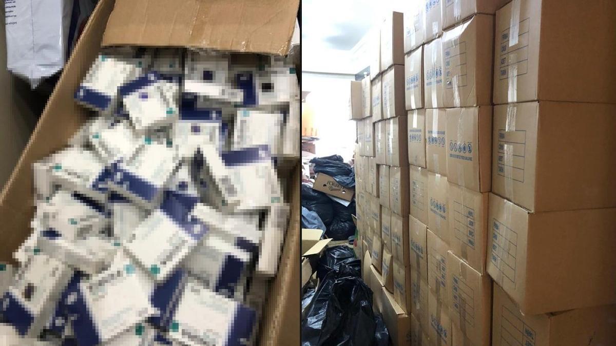İstanbul'da sahte ilaç operasyonu: 2 milyonun üzerinde ilaç ele geçirildi