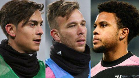 Juventus'un üç yıldızı Dybala, Arthur ve McKennie fena yakalandı... Polis bir saat kapıda bekledi