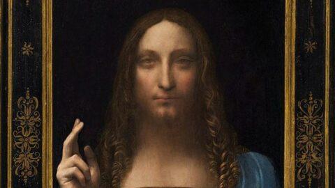 Leonardo da Vinci'nin Salvator Mundi tablosunu yatında sergiledi