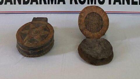 Isparta'da 1500 yıllık ceylan derisi Tevrat ele geçirildi