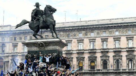 Yıllar sonra gelen şampiyonluk Inter taraftarına coronayı unutturdu