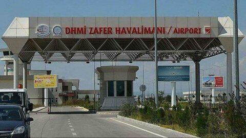 61 yolcu gelen havaalanında ZAFER müteahhitin oldu