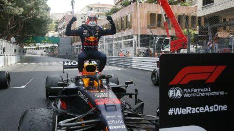 Monaco'da zafer Max Verstappen'in
