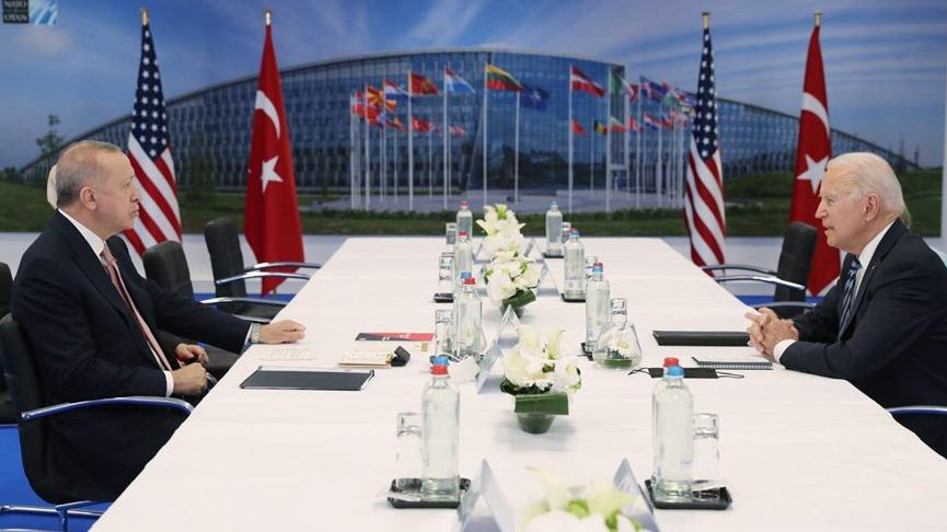 Cumhurbaşkanı Erdoğan ile görüşen Biden'dan ilk açıklama