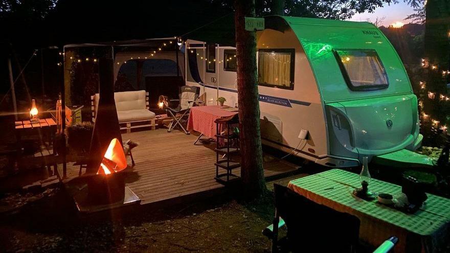 Açık hava tatili ile karavan ve çadır malzemeleri revaçta