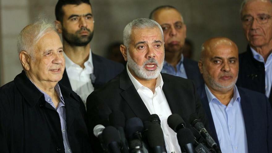 İsmail Haniye yeniden Hamas'ın başına seçildi