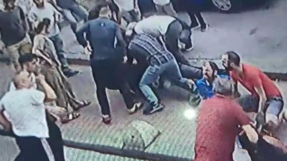 Beyoğlu'nda 1 kişinin öldüğü silahlı kavganın yeni görüntüleri ortaya çıktı