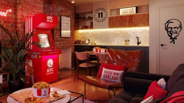 KFC, otel açıyor: 'Tavuk için basınız' butonu da olacak