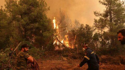 Yunanistan'da korgeneral yangınlar nedeniyle istifa etti