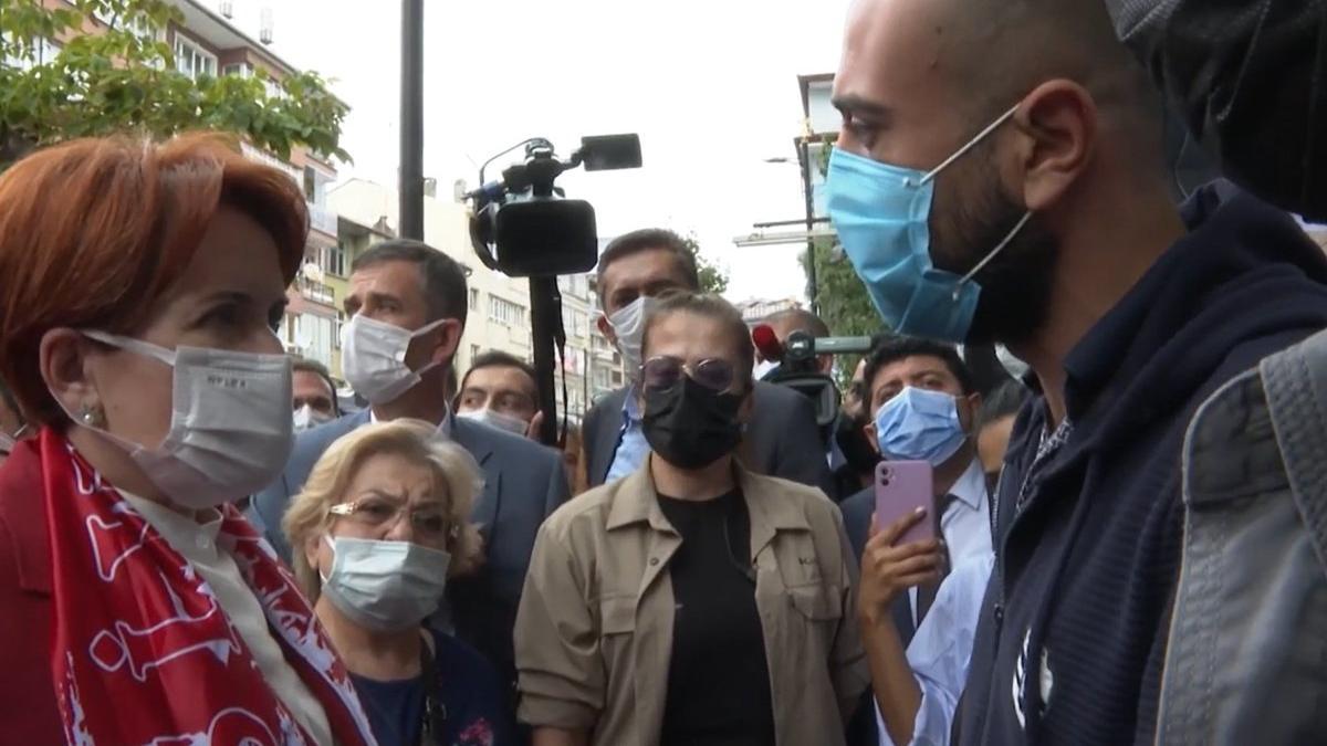 Vatandaş Akşener'e isyan etti: Suriyeliler, Afganlar kadar değerimiz yok