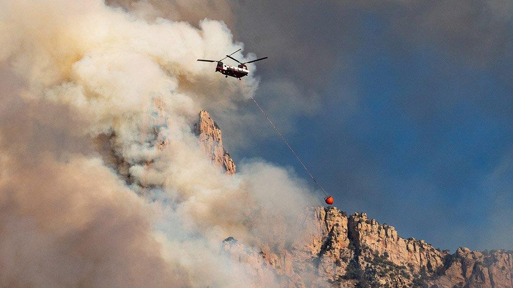 Orman Bakanlığı uçak bulamayınca helikoptere 5 kat para ödemiş